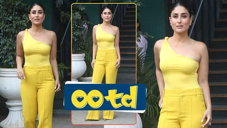 OOTD: Fashion diva Kareena Kapoor Khan shines in this bright yellow outfit