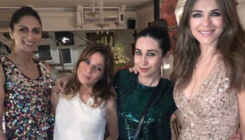 View pic! Karisma Kapoor has the time of her life with Elizabeth Hurley