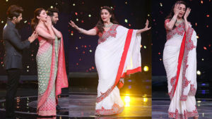 In Pics: Madhuri Dixit gives a stellar performance in a dance reality show; Varun-Alia cheer up for her