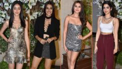 In Pics: Tara Sutaria, Ananya Panday, Khushi Kapoor, Disha Patani dazzle at Manish Malhotra's party