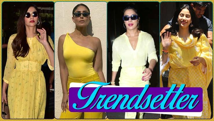 'Yellow' is the colour of the season: Priyanka, Kareena, Janhvi, Sonam prove that summer has arrived