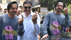 Lok Sabha Elections 2019: Ranveer Singh casts his vote in style with father Jagjit Singh Bhavnani