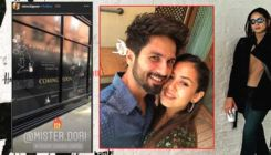 Shahid Kapoor-Mira Rajput's London vacation pics are drenched in love
