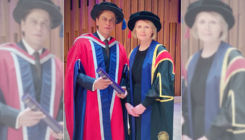 Shah Rukh Khan felicitated with an honorary doctorate from The University of Law