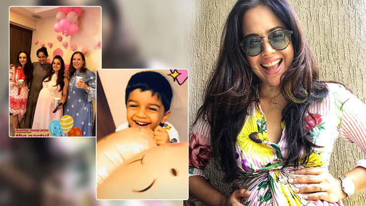 Sameera Reddy celebrates her baby shower in style with friends and family