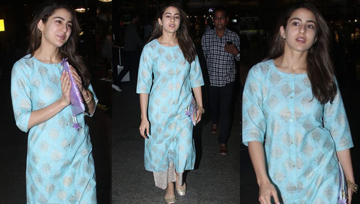 OOTD: Sara Ali Khan is summer ready in this cool ethnic wear