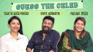 Team The Tashkent Files indulge in a fun game of 'Guess The Celeb Couple'