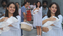 In Pics: Surveen Chawla looks radiant as she gets snapped with her newborn daughter