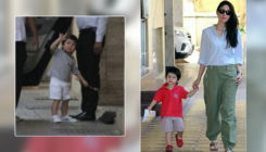 Cuteness Alert: Taimur greets media in the most adorable way - watch video