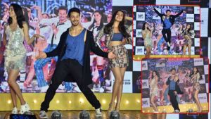 'The Jawaani Song' launch: Tiger Shroff, Tara Sutaria and Ananya Panday give stunning performances