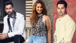 Despite break up with Vicky Kaushal, Harleen Sethi dances her heart out with Varun Dhawan