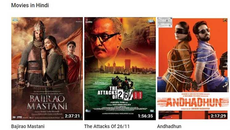 new hindi movies online youtube
