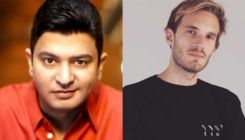 Watch: Bhushan Kumar hits back at PewDiePie over YouTube hits controversy