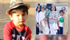 Baby Taimur Ali Khan adds cuteness to his grandma Babita's birthday celebration - View pic