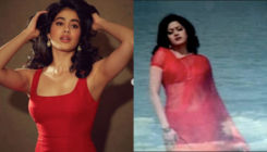 Janhvi Kapoor's latest pics have an uncanny resemblance to her mom Sridevi