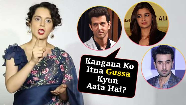 Is Kangana Ranaut making a mockery of her class by indulging in unnecessary controversies?