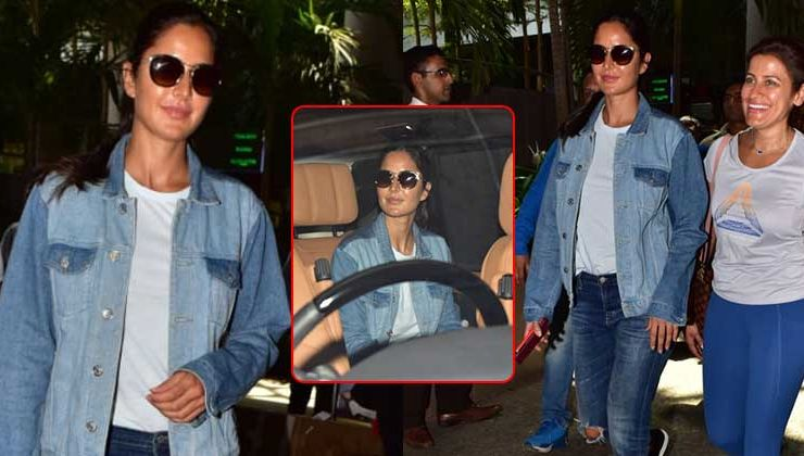 Pics: Katrina Kaif flaunts her tanned look as she returns from the Maldives