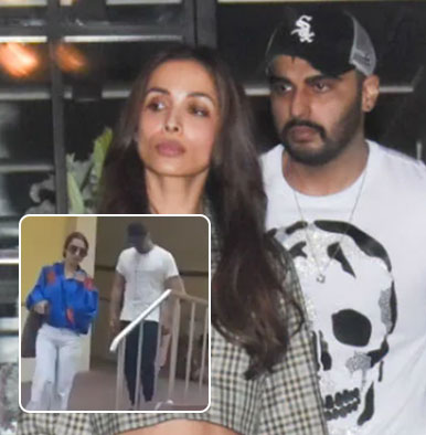 Lovers Malaika Arora and Arjun Kapoor spotted outside a hospital; what's going on man?