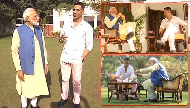 5 highlights from PM Narendra Modi's candid chat with Akshay Kumar