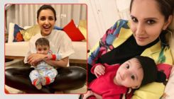 'Khaala' Parineeti Chopra's adorable pic with Sania Mirza's son Izhaan is too cute to miss out!