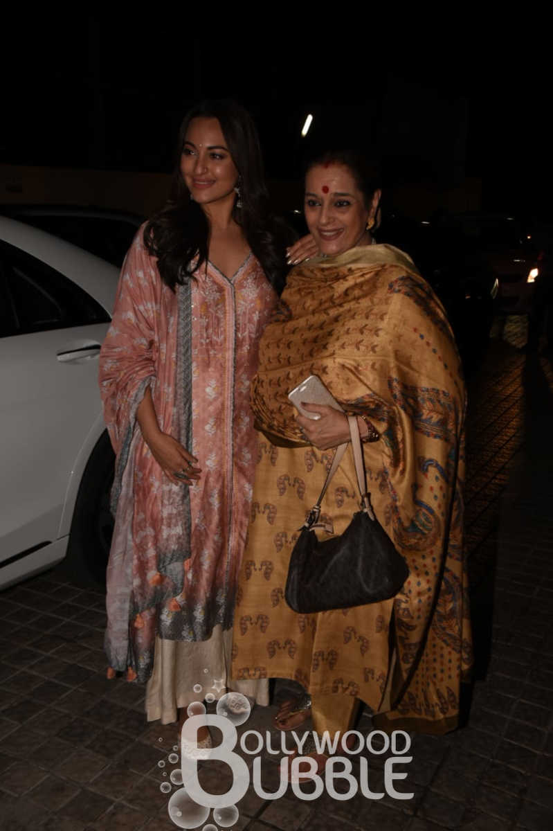Sonakshi Sinha with her mother Poonam Sinha