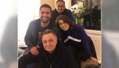 Vicky Kaushal meets the ailing Rishi Kapoor in USA