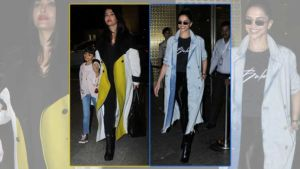 Deepika Padukone is back in the bay while Aishwarya Rai Bachchan leaves for Cannes - view pics