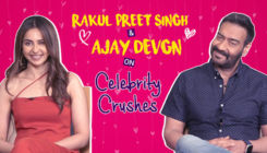 Ajay Devgn and Rakul Preet Singh's candid CONFESSIONS on celebrity crushes
