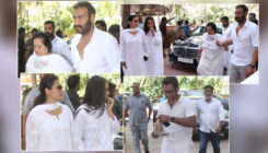 Veeru Devgan Prayer meet: Bollywood comes to offer condolences to Ajay Devgn, Kajol and family