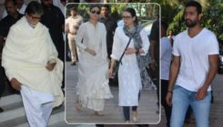 Veeru Devgan Prayer Meet: Amitabh Bachchan, Vicky Kaushal, Kareena Kapoor come to pay their last respects