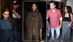 Malaika Arora, Sonam Kapoor and Varun Dhawan attend the special screening of Arjun Kapoor's 'India's Most Wanted'