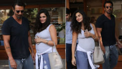 In Pics: Arjun Rampal takes mom-to-be Gabriella Demetriades out on a lunch date