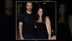 Parents-to-be Arjun Rampal and girlfriend Gabriella are twinning in black - view pic