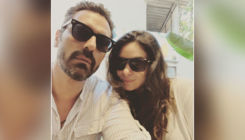 Parents to be, Arjun Rampal and GF Gabrielle Demetriades are twinning in black shades