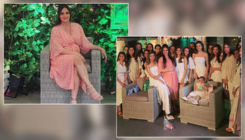 PICS: Esha Deol having a great time at her baby shower with friends and family