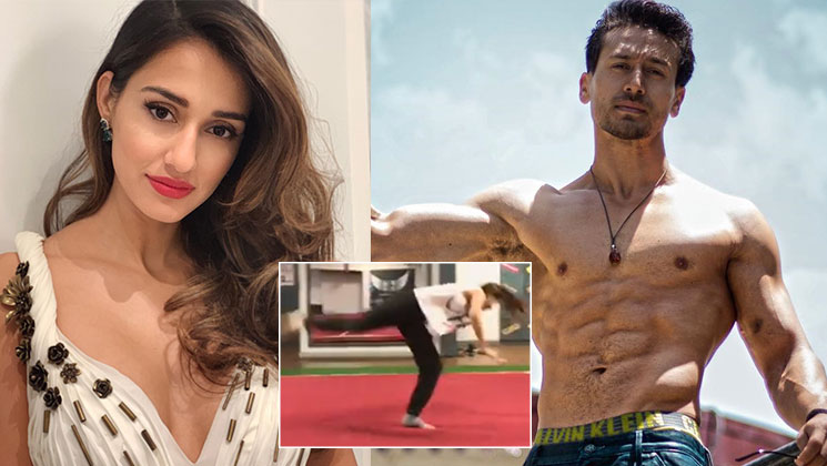 Disha Patani's butterfly kick will leave Tiger Shroff impressed - watch video | Bollywood Bubble