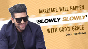 Guru Randhawa's STRANGE reaction on marriage and female fan following