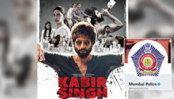 Mumbai Police joins the 'Kabir Singh' meme fest to convey a very important message