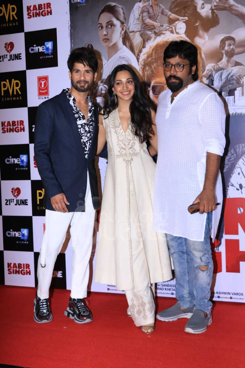 Shahid, Kiara and Sandeep Vanga