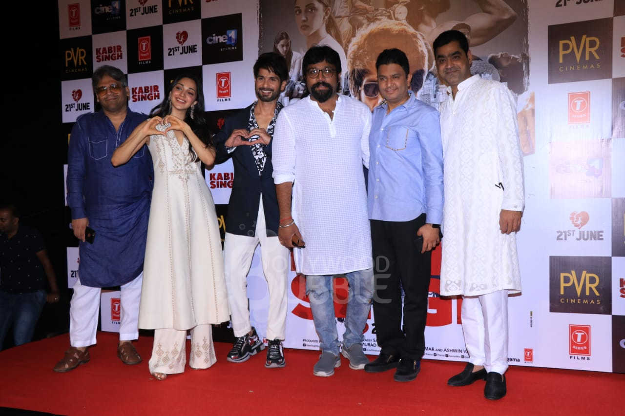 The 'Kabir Singh' team
