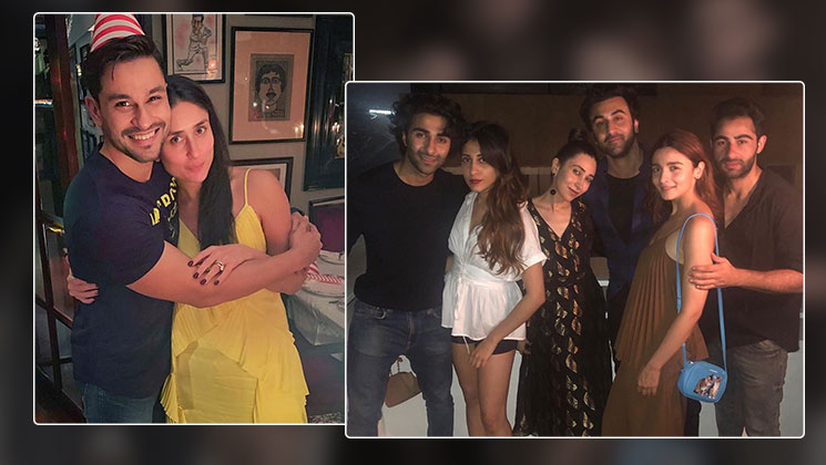 Alia Bhatt and her BF Ranbir Kapoor join Kunal Kemmu's birthday bash | Bollywood Bubble