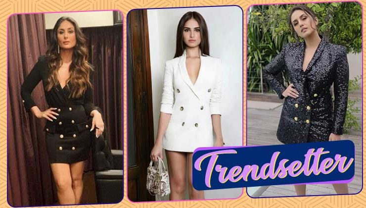 Blazer dresses are the new fad among B-Town celebs; here's proof!