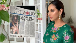 OMG! Lisa Ray blasts newspaper for using her cleavage showing pic