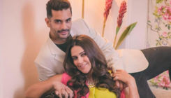 Neha Dhupia shares a heartwarming message for Angad Bedi on first wedding anniversary