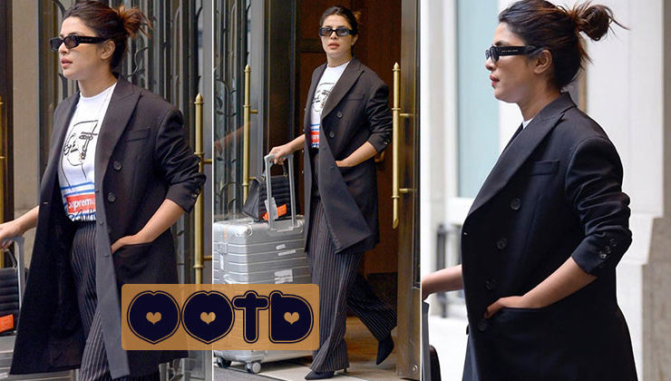 Priyanka Chopra jets off to Cannes 2019 in this miss match ensemble