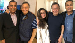 After Mukesh Ambani, now brother Anil Ambani meets ailing Rishi Kapoor in the US