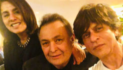 Shah Rukh Khan meets an ailing Rishi Kapoor in the US