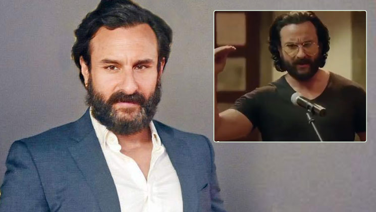 Saif Ali Khan turns stand-up comedian for his televison debut | Bollywood Bubble