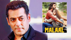 Salman Khan extends his best wishes to debutante Sharmin Segal for 'Malaal'