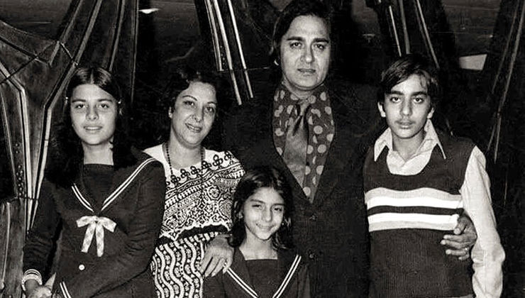 Sanjay Dutt shares a throwback family pic on father Sunil Dutt's death anniversary